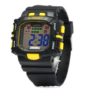 LED Sports Watch  - Κίτρινο K17