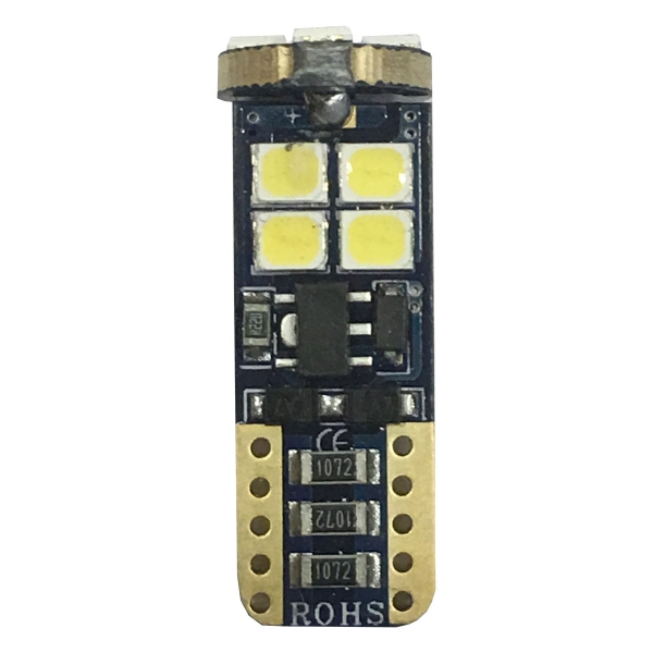 Philips  LED T10 12smd can bus w5w 6000k 210 Lumens KXP12012