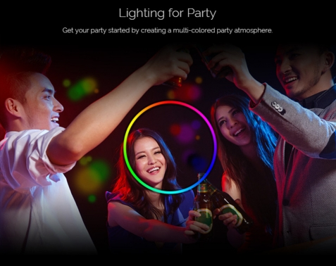 Sonoff B1 Dimmable E27 LED Lamp - RGB Color Light Bulb
