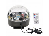Crystal Magic Ball Light RGB MP3 DJ - Bluetooth - Φωτορυθμικό