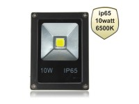 Προβολέας LED 10 Watt ­Slim Black IP65 - OEM