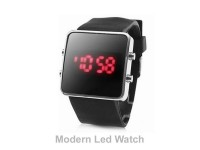 UNISEX SILICONE BAND LED WATCH