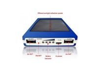 POWER BANK 2,1A SOLAR 20000MAH - OEM - 22341