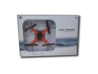 UFO DRONE QUADCOPTER  ΚΑΜΕΡΑ 6AXIS OF GYRO 2.4GHZ (white 8820 - orange 8821)