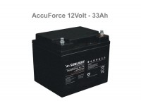 12V-33Ah - Μπαταρία Sunlight Accuforce12-33 VRLA