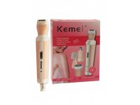 KM-3024 - KEMEI 4-IN-1 RECHARGEABLE SHAVER SUIT