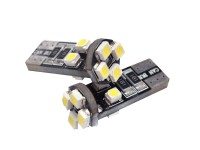 Ψείρες LED T10 8smd can bus w5 - 3014