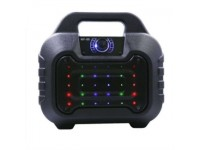 HY-05 Portable Bluetooth LED Super Bass Subwoofer Speaker with TF/FM/USB/AUX