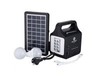 EP-381 Solar Generator Portable kit Solar Generator System With Solar Panel and Bulbs Remote Control