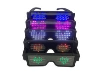 Party Spectacles, Light-up eyeglasses, Flash Glasses, Shutter shades - ΧΡΩΜΑ LED ΠΡΑΣΙΝΟ