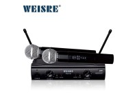 ​WEISRE PGX-58 Professional VHF Wireless Microphone - Receiver Studio For Computer KTV
