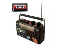 YG-335-U - RADIO CASSETTE RETRO AM/FM/SW1/SW2 MP3 USB/SD/MMC