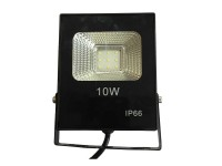10Watt LED αδιάβροχος προβολέας super slim SMD  Cool White  220Volt OEM