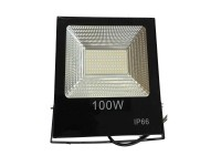 100Watt LED αδιάβροχος προβολέας super slim SMD 9000LM Cool White  220Volt OEM