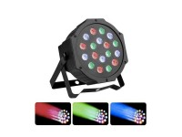 Φωτορυθμικό RGB DMX 18 Flat led disco - OEM