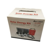 Solar Energy Kit Model QG-S909 (Solar Lighting System) Max-Light