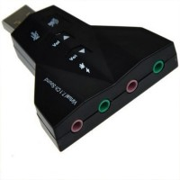 OEM USB Virtual 7.1 Channel Sound Adapter Cmedia  - PD560