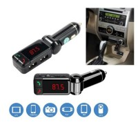 Bluetooth Car Kit + Διπλός USB Φορτιστής 2.1A + MP3 player