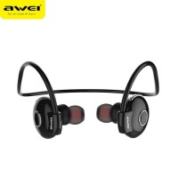 Ακουστικά Bluetooth Awei A845BL (Μαύρο) - Bluetooth V4.1 Headphones Noise Reduction Neckband Earphone Wireless Earphone For Phone Neckband Sport Headset