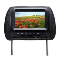 7 Inch Car Headrest Monitor TFT LED Digital Screen Pillow Monitor MP5 Player & USB and SD Functions - Alibay S1207