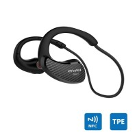 Ακουστικά Awei A881BL Carbon Fiber Bluetooth Αδιάβροχα Sport Wireless Earphones NFC Bluetooth Headset With Microphone For Mobile Phone (A881BL Black)