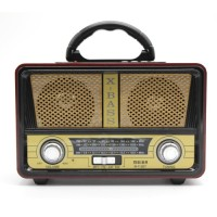 MEIER  M112BT Vintage BT Speaker USB Radio with BT wireless