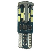 Philips 210 Lumen  LED T10 30smd can bus w5w 6000k