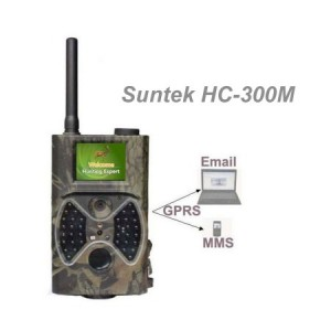 Suntek HC-300M  2G MMS GPRS  12MP 1080P SD-32GB  IR 20m LED 940nM