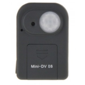Mini-DV E6 GSM GPRS GPS Tracker Camera 2.0MP OEM