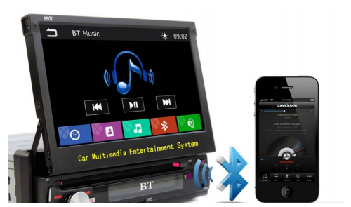 Multimedia 1 din GPS/DVD Beko 8801