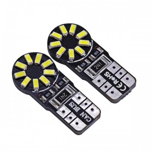 LED T10 18smd can bus 3014