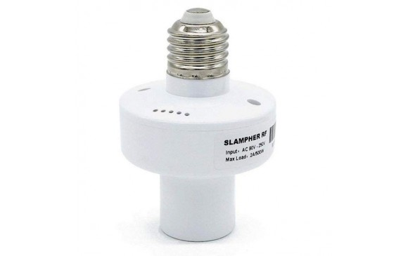 SONOFF Slampher RF 433MHz WiFi Smart Light Bulb Holder - WHITE