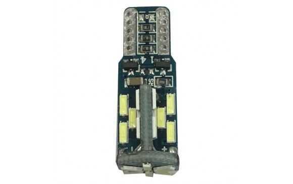 Philips 210 Lumen  LED T10 30smd can bus w5w 6000k KXP30102