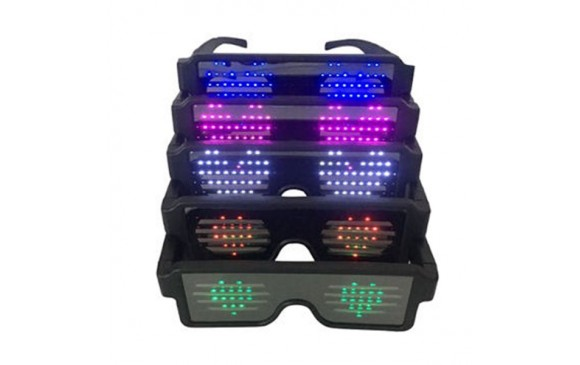 Party Spectacles, Light-up eyeglasses, Flash Glasses, Shutter shades