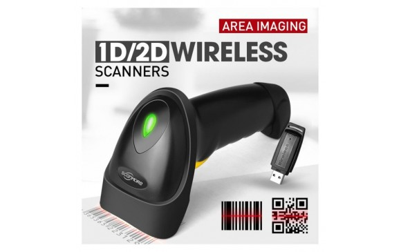 SCANMORE SM202Y 2D Wireless Barcode Scanner