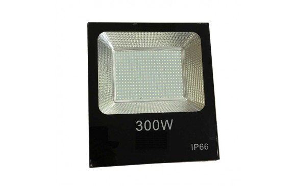 300Watt LED αδιάβροχος προβολέας super slim SMD 18000LM Cool White  220Volt OEM