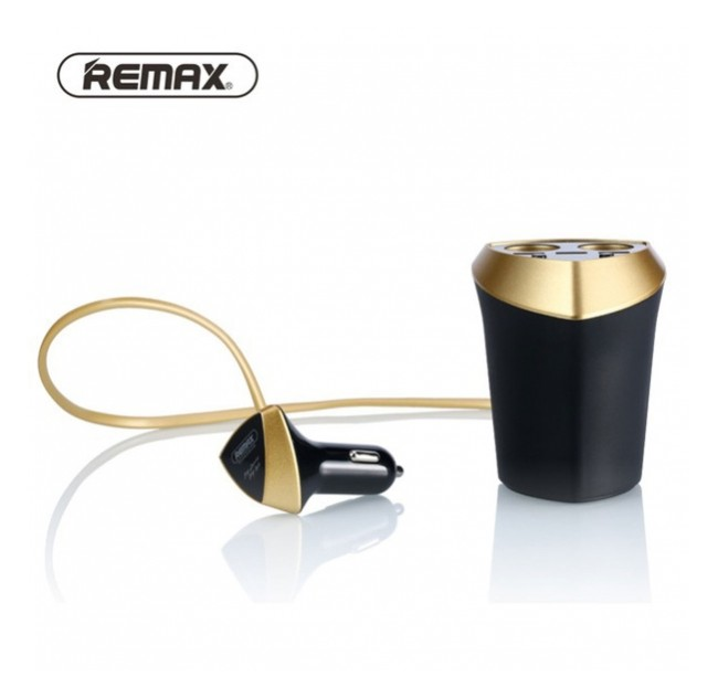 REMAX smart car charger 2 ports 3 USB, CR-3XP
