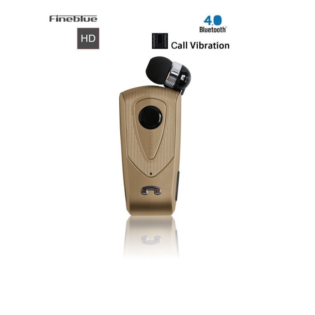 Fineblue bluetooth hands free ακουστικό F930 gold